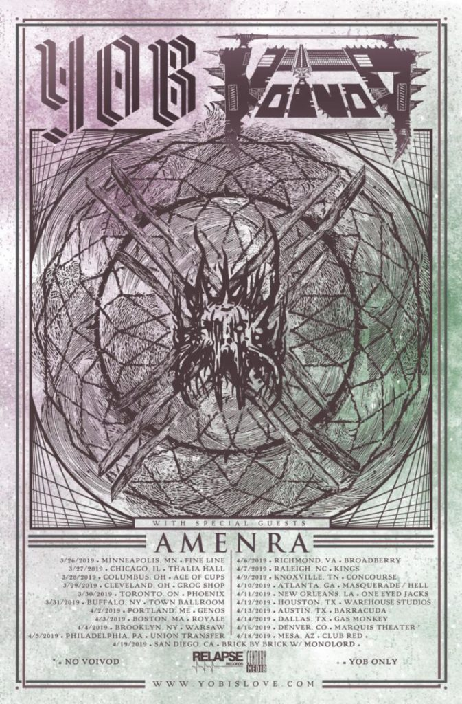 AMENRA Prepares For North American Tour With Yob And Voivod